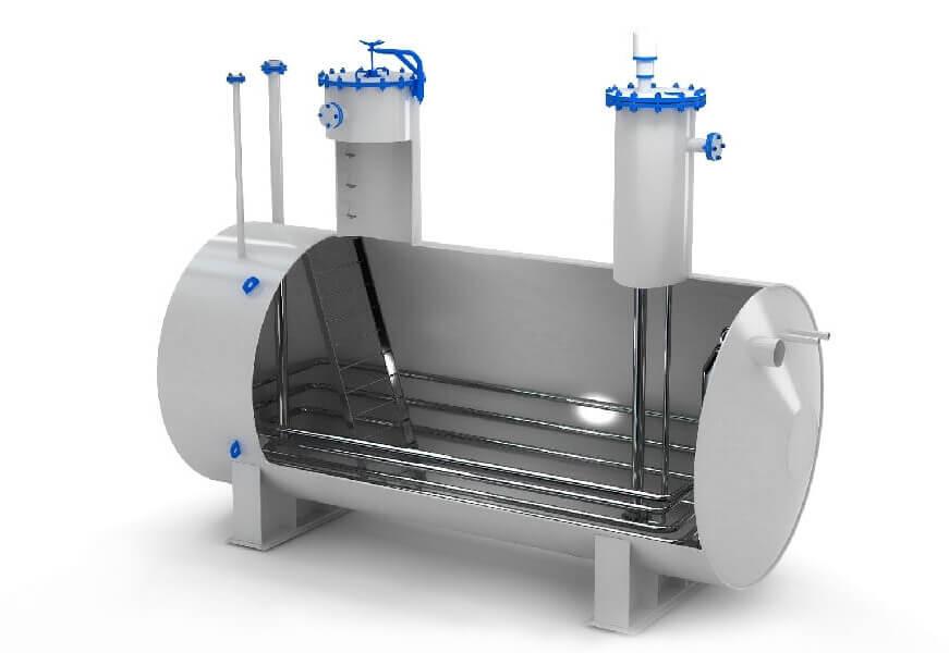 emkosti i rezervuary s podogrevom 2 1 Отстойники для воды