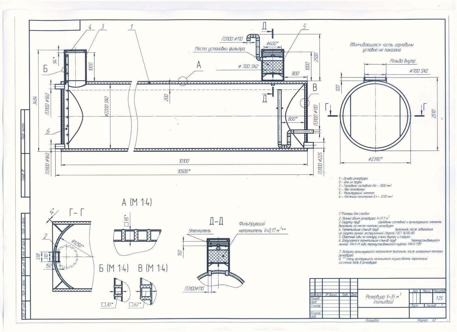 rezervuary i emkosti stekloplastik 10 Резервуары и емкости (стеклопластик)
