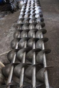 shneki iz konstrukcionnoj i nerzhavejushhej stali 200x300 Шнеки из конструкционной и нержавеющей стали