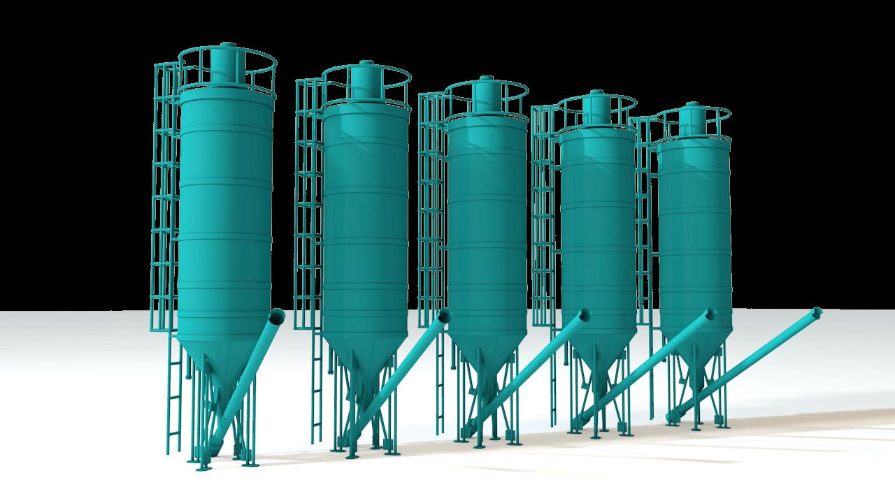 silosy dlja hranenija sypuchih produktov3 Силосы для хранения сыпучих продуктов
