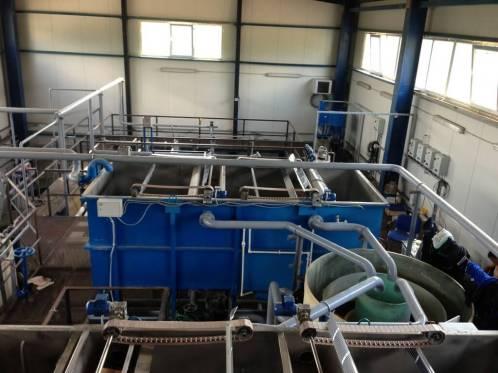 flotacionnye sistemy 4 Очистные сооружения для трубного завода