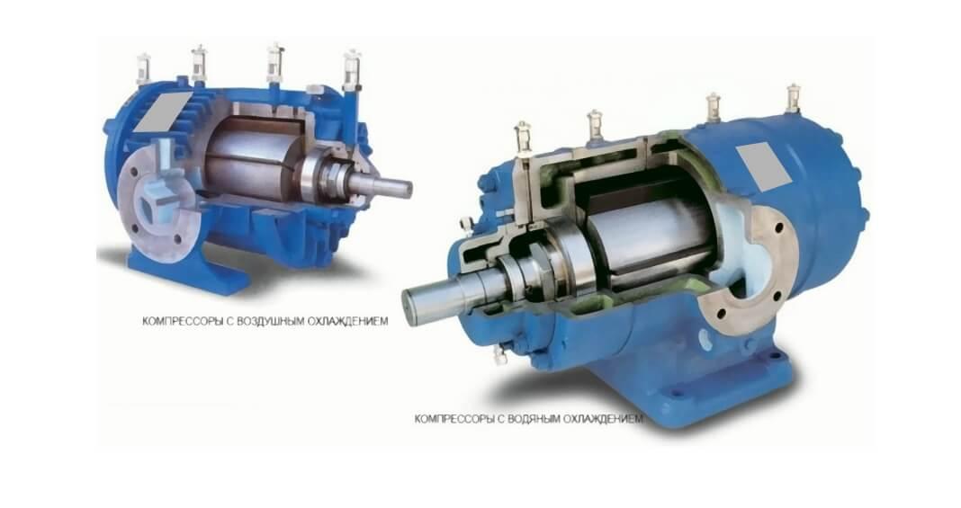 kompressor rotorno plastinchatyj 7 Компрессор роторно пластинчатый