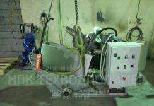 Отгрузка с завода - шнековый обезвоживатель