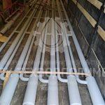Эрлифт VOLNA-Э 100 со смесителем. Материал изготовления сталь конструкционная с усиленным антикоррозийным покрытием. Высота подъема 9 м. Диаметр водозаборной трубы: Ду100 Диаметр воздухоподводящего трубопровода: Ду50 Отгрузка в Ярославскую область.