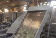 Решетка фильтрующая самоочищающаяся BAYKAL-УФС производительностью 25 м3/ч.